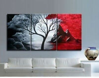 ZWPT312  hand-painted 3pcs modern seascape landscap art oil painting on canvas