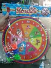 Bersaglio e freccette senza punta a strappo per bimbi  Kit gioco giocattolo toy