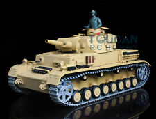 Us Stock 3858 1/16 German Iv F Rtr Rc Tank HengLong Upgraded Metal Verion Sound