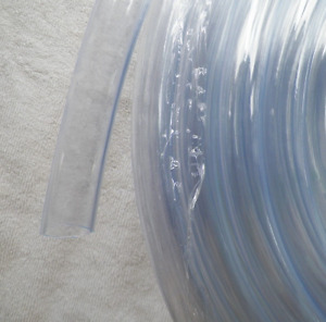 """3/4"""" ID CLEAR VINYL TUBING HOSE, BY THE FOOT, CONDENSATE DRAINS BILGE PUMPS, ETC"""