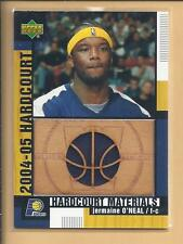 * 2004 UD Hardcourt Players Warm-Up JERAINE O'NEAL  no.HCM-JO pacers