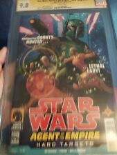 Star Wars: Agent of the Empire—Hard Targets #4 CGC SS 9.8 sig Jeremy Bulloch