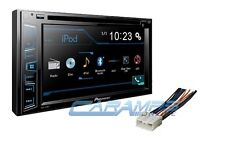 "NEW 6.2"" TOUCHSCREEN PIONEER CAR STEREO RADIO WITH INSTALL PARTS & BLUETOOTH"