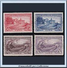 1928 San Marino San Francesco Serie completa n. 137/140 Nuovi Integri **