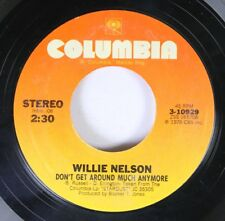 Country 45 Willie  Nelson - Don'T Get Around Much Anymore / September Song On Co