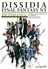 DISSIDIA FINAL FANTASY NT ULTIMANIA Official Guide Japanese book game