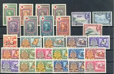 CURACAO- 28 STAMPS -- CV €196 - * MH VF