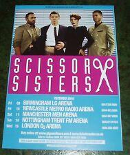 SCISSOR SISTERS (UK Concert Tour Flyer 2010) US Group