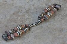 Ladies bangle watch band vintage item great 1960s/70s Southwestern look strap