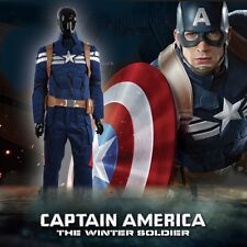 Cosplay Costume Captain America 2 Winter Soldier Steve Rogers Chris Outfit W0429