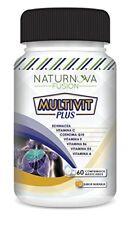 MULTIVITAMINICO -  Con vitamina C, E, B6, A y D3 - 60 cápsulas multivitaminas
