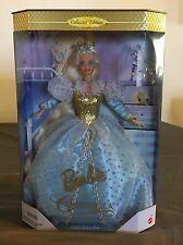 Vintage 1996 Cinderella Barbie Doll Collectors Edition Fairytale NIB Mattel