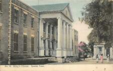 King's House, Spanish Town, Jamaica c1910s Hand-Colored Vintage Postcard