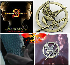 The Hunger Games Pin Brooch Badge for Cosplay Costume Katniss Everdeen 3.5cm