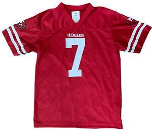 San Francisco SF 49ers COLIN KAEPERNICK NFL Jersey YOUTH KIDS BOYS XL