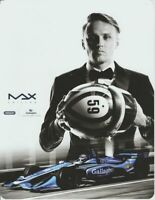 2019 Max Chilton Gallagher Chevy Dallara Indy Car postcard