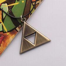 Legend of Zelda Triforce Necklace Gold