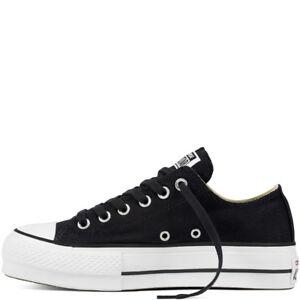 Converse All Star CTAS OX PLATFORM LIFT Canvas Black/White 560250C