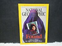 """National Geographic April 2002 """"Found: After 17 Years An Afghan"""" Paperback Mag"""
