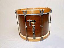 "Vintage 1953 Leedy & Ludwig Model 3182 14"" Mahogany Shell Academy Parade Drum"