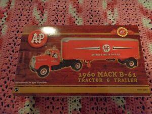 2003 FIRST GEAR A&P 1960 MACK B-61 TRACTOR TRAILER