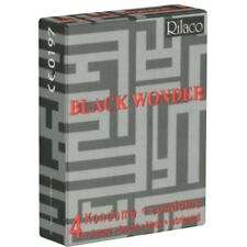 Rilaco Black Wonder 4 condoms in black made in Germany