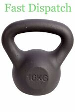Men's Health/ Women's Health Cast Iron Kettlebell 16kg 🚚Fast Delivery 🚚
