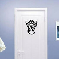 Creative WC Sign Bathroom Window Wall Sticker Home Hotel Supermarket Decor LI