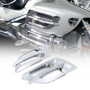 Grilles d'accent de carénage latéral adaptées pour Honda Goldwing GL1800 2001-11