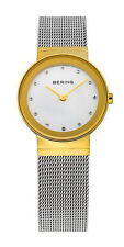 Bering Armbanduhren aus Edelstahl mit Saphirglas