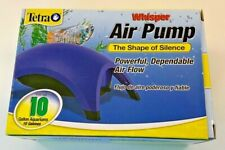 Tetra Whisper Air Pump  (Up to 10 Gallon Aquariums) new! Fast Free Shipping!