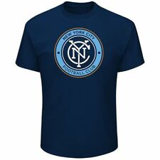 Officially Licensed MLS Primary Logo S/S  NYC FC T - Shirt - New York City FC