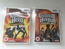 Wii Game - Guitar Hero WORLD TOUR + LEGENDS OF ROCK III - **1st CLASS**