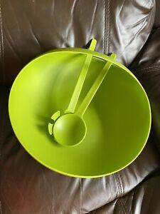 Joseph Joseph Lime Green Salad Bowl And Servers