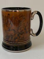 Vintage Arthur wood Ye Olde Coaching & Hunting Days Coffee Mug 16 Oz