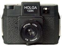 Holga Used Film Camera 120N 120n Black (Discontinued)