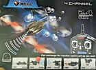 WLtoys V969 4-Axis 4 CH RC Quad Battleship Gyro 2.4Ghz RTF Bubble Blower Radio