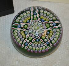 Vintage Perthshire Paperweights New Millifiori Pattern Limit Edition Paperweight