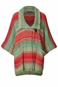 $1298 Polo Ralph Lauren Indian Serape Cashmere Sweater Cardigan Toggle Coat L
