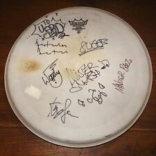MADNESS FULLY AUTOGRAPHED HAND SIGNED CONCERT USED DRUM SKIN HEAD UAAC DEALER