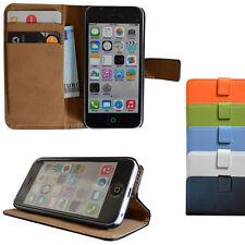 iPhone 5C Brieftasche Handy Tasche Case Cover Etui Schutz Hülle Handytasche 5 c