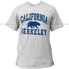New Cal Berkeley Golden Bears University Grey College T-shirt - #7054 (Small)