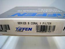 NUEVO Tiffen Serie 9 Cristal Redondo Coral 1 FILTER 82.5mm #s9co1