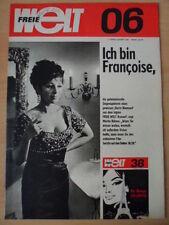 FREIE WELT 6 1969 * Komische Oper Robbenfang am Baikalsee Gabi Seyfert Thema Uhr
