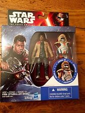 Hasbro Star Wars The Force Awakens FINN STARKILLER BASE Armor Up Figure Disney