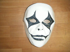 Slipknot Jim Root Blanco Fibra De Vidrio Halloween Fancy Dress Up Máscara Adulto Cosplay