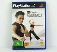 Kinetic Combat PS2 PlayStation 2 Game Complete PAL