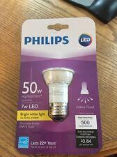 Philips 454371 50W Equivalent Bright White PAR16 Dimmable Led Flood Light Bulb