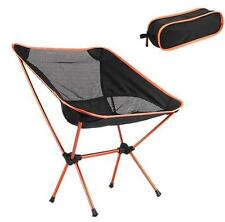 Outdoor Portable Folding Chair Aluminum Sport Camping Picnic BBQ Camp Summer
