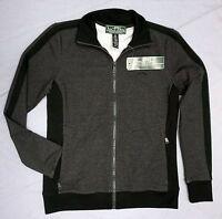 NWT $115 Polo Ralph Lauren LRL Gray Active Jacket Womens XS Full Zip Grey NEW